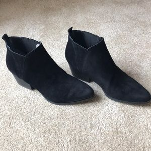 Crown Vintage black booties 7.5